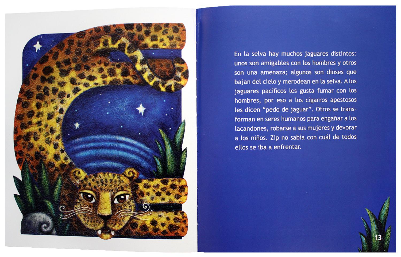 El secreto de la selva. Una leyenda lacandona   Catálogo