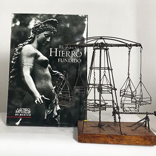 """<b>Paquete """"Hierro fundido""""</b> <br> Tradición y trabajo de manos mexicanas <br>"""